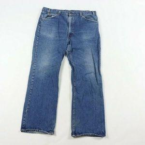 Vintage Levi's Orange Tab Bootcut Distressed Jeans